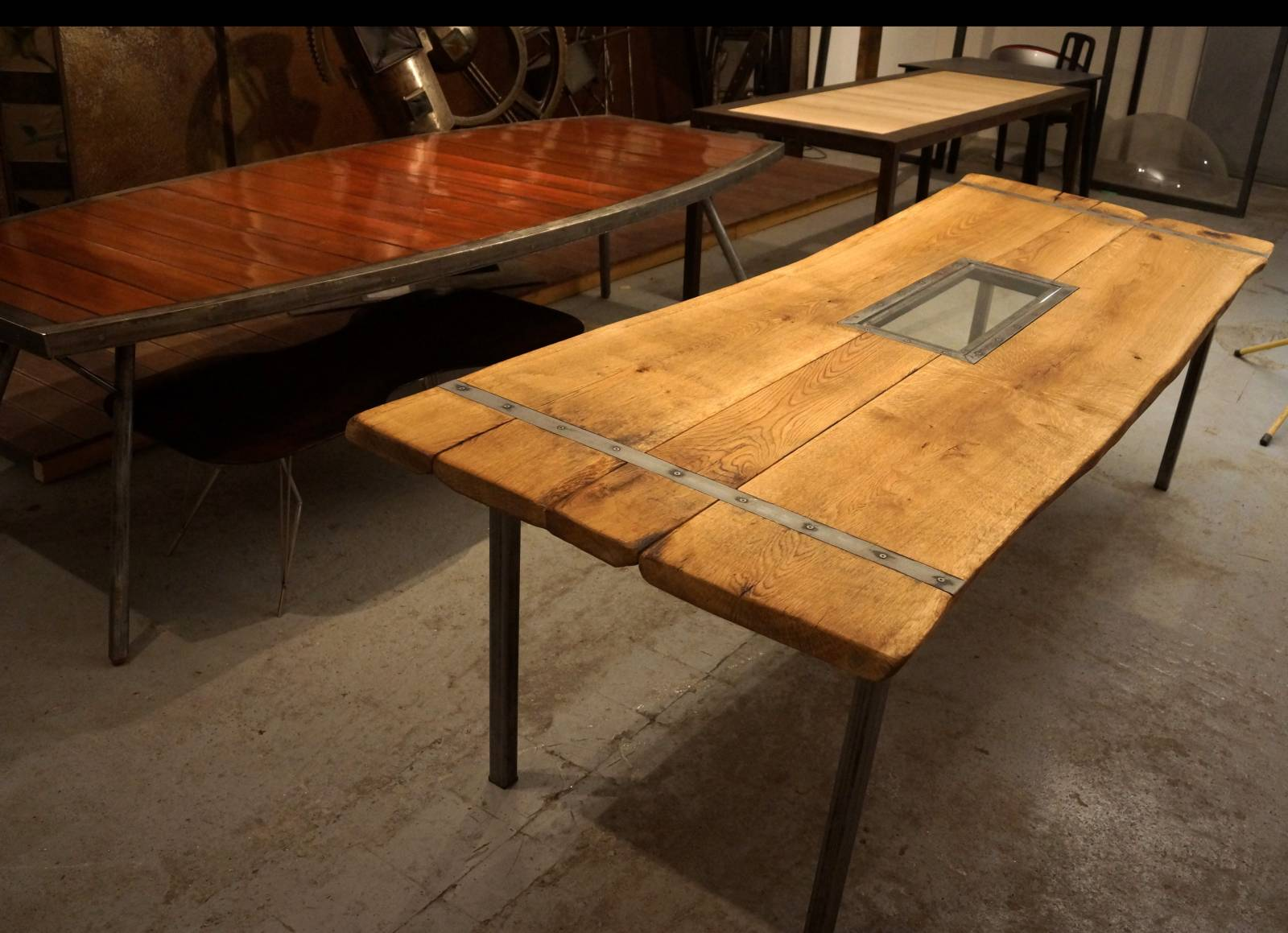 Fabrication de table sur mesure