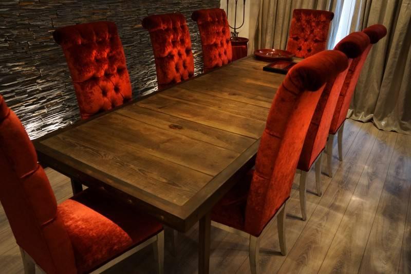 R alisation d 39 une table en fer et vieux bois toulon for Table en fer et bois