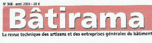 Article dans le magazine BATIRAMA avril 2002